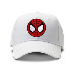 casquette SPIDERMAN brodée de couleur blanche