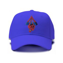 casquette SPIDERMAN ACTION REPLAY brodée de couleur bleu royal