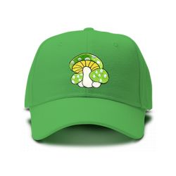 casquette PSYLO brodée de couleur verte