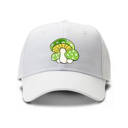 casquette PSYLO brodée de couleur blanche