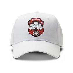 casquette STAR WARS TROOPERS logo brodée de couleur blanche