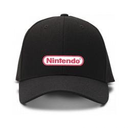 casquette NINTENDO logo brodée de couleur noire