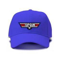 casquette TOP GUN brodée de couleur bleu royal