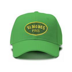 casquette VAMONOS PEST BREAKING BAD brodée de couleur verte