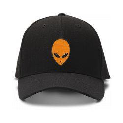 casquette ROSWELL brodée de couleur noire