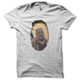 Shirt The Big Lebowski représentant Walter Sobchak blanc pour homme et femme