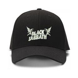 casquette BLACK SABBATH brodée de couleur noire