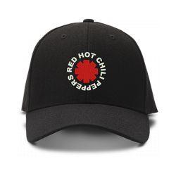 casquette RED HOT CHILI PEPPERS brodée de couleur noire