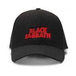 casquette BLACK SABBATH original brodée de couleur noire