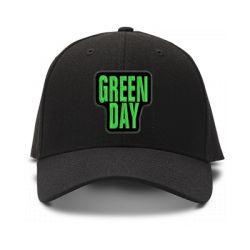 casquette green day brodée de couleur noire