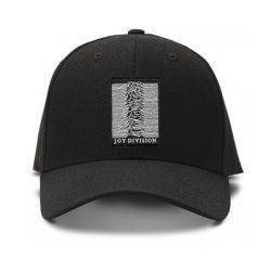 casquette joy division brodée de couleur noire