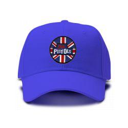 casquette SEX PISTOLS brodée de couleur bleu royal