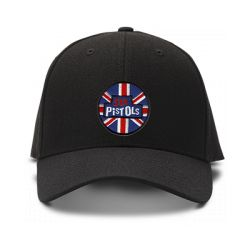 casquette SEX PISTOLS brodée de couleur noire