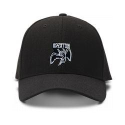 casquette LED ZEPPELIN brodée de couleur noire