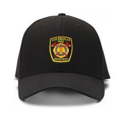 casquette LOS ANGELES FIRE DEPARTMENT brodée de couleur noire