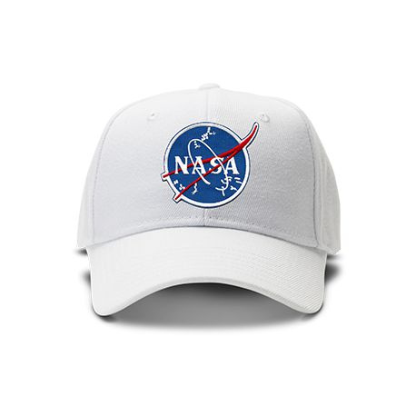 casquette NASA ORIGINAL brodée de couleur blanche