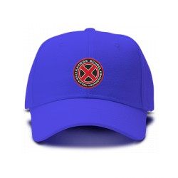 casquette x-men xavier school bleu royal