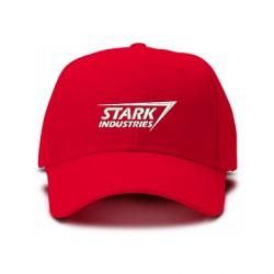 casquette stark entreprise rouge