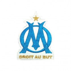 Polo droit au but OM blanc
