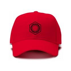casquette nouveau logo de l'empire star wars rouge