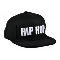 casquette STRAPBACK hip hop noire