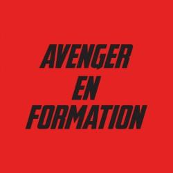 Shirt formation des avengers pour homme et femme en rouge