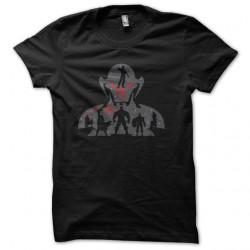 Shirt avenger age of ultron noir pour homme et femme