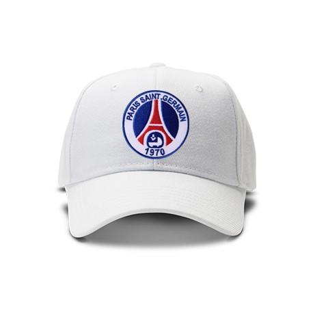 casquette PSG blanche