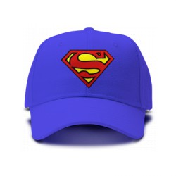 casquette SUPERMAN bleu royal