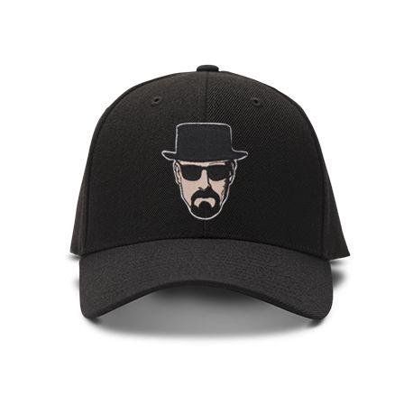 casquette Breaking Bad brod'e de couleur noire