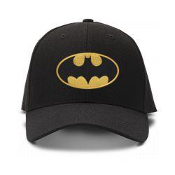 casquette batman brodée de couleur noire