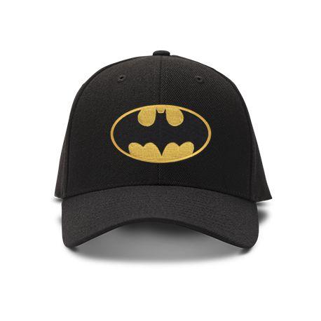 casquette batman brod'e de couleur noire