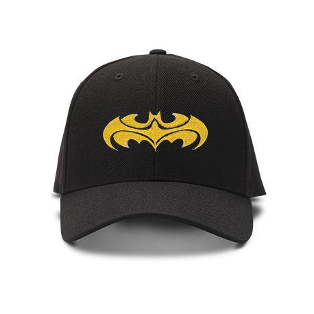 casquette batman special brod'e de couleur noire
