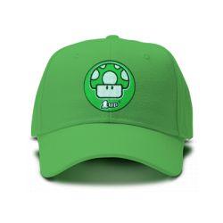 casquette 1 up brodee de couleur verte