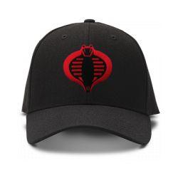 casquette cobra de couleur noire