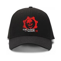 casquette gears of war 3 de couleur noire