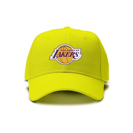 casquette lakers los angeles de couleur jaune. Black Bedroom Furniture Sets. Home Design Ideas