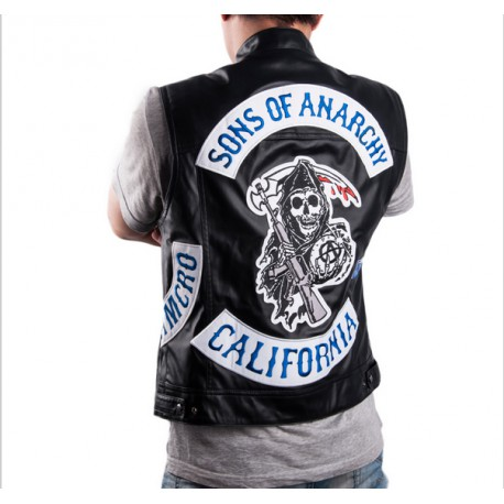 Veste sons of anarchy jax teller en cuir