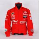 veste f1 budweiser auto racing moto gp coupe vent rouge