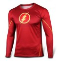 Tee shirt Flash moulant à compression cosplay