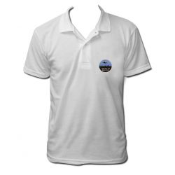 Polo i want to believe couleur blanc