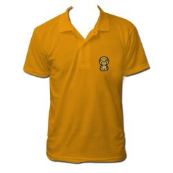 Polo monkey couleur orange