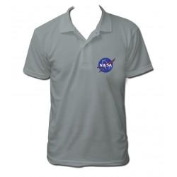 Polo NASA gris