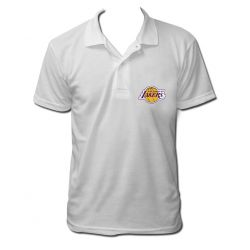 Polo los angeles lakers couleur blanc