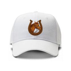 casquette fer … cheval de couleur blanche
