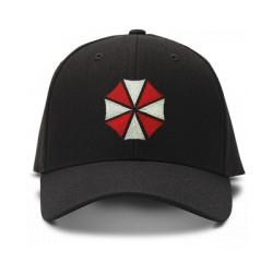 casquette Umbrella corporation brodée de couleur noire