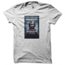 Shirt Harry Potter Azkaban prison blanc pour homme et femme