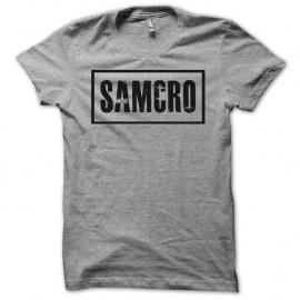 Shirt Sons Of Anarchy vs SAMCRO noir/gris pour homme et femme