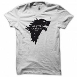 Shirt Le Trône de fer version spéciale blanc pour homme et femme