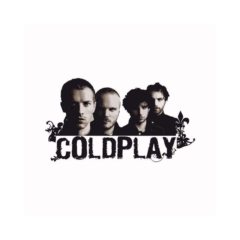 shirt cher noir blanc pas sur Coldplay T E1Sqdq